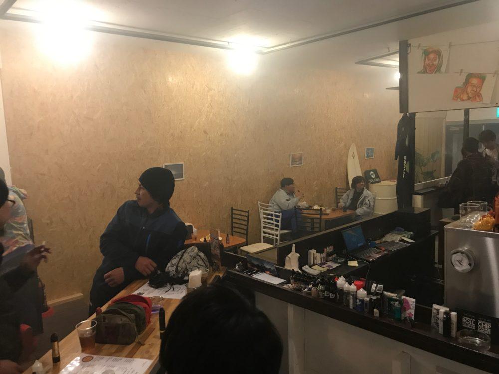 Beach Flavor Cafe Sunset店内